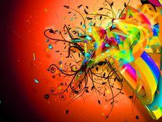 C4d Color Flow by DontFreakNow #digital art