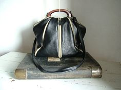 Urban Leather Handbag Purse with Zippers - Made to Order. Alternative colours possible