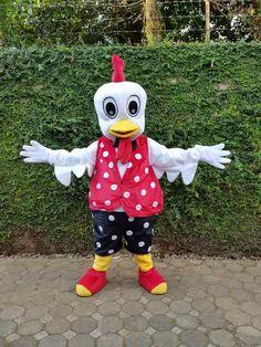 Maskot Ayam  #badutngamen #bajukarakterkartun #badutsedih #badutkartun