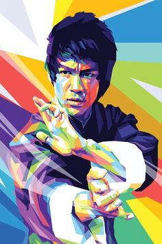 Bruce Lee Poster, Bruce Lee Art, Bruce Lee Martial Arts, Bruce Lee Quotes, My Canvas, Canvas Prints, Art Prints, Pop Art Posters, Poster Prints