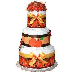 fall baby shower ideas | ... Cake - $63.00 : Diaper Cakes Mall, Unique Baby shower diaper cake