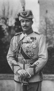 Prince Wilhelm of Wied, first Sovereign Prince of Albania 1913.  Being pro-Austrian, he was driven off his throne by the autumn of 1914 and left for Venice.