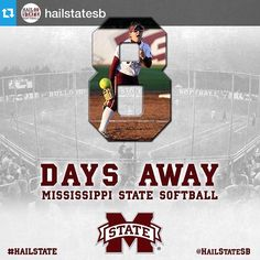 #Repost @hailstatesb・・・We call her 'Silk' because she's just that smooth. Alexis Silkwood (8) days from taking on MVSU! #HailState