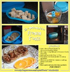 2 Minutes French Toast with the Breakfast Maker SHOP NOW!!  www.My.Tupperware.com/CrystalWoods  619.270.6591