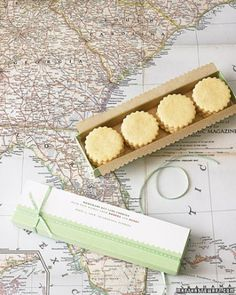 """See the """"Key Lime Sables"""" in our Cookie Wedding Favors gallery"""