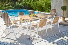 LORENZO-pöytä ja -tuolit