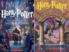 Livro azul: capas novas de Harry Potter