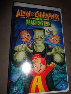 alvin and the chipmunks meet frankenstein vhs