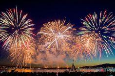 Celebration of Light Firework Vancouver
