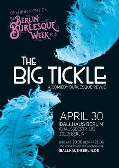 #WinWin! The BIG Tickle – A Comedy Burlesque Revue am 30.04.2016 - Gewinnt 2 x 2 Tickets! #burlesqueberlin #ballhausberlin - Gewinnt mit Verführer - Das Beste aus Berlin 2 x 2 Tickets zu Berlins lustigster Burlesquerevue im legendären Ballhaus Berlin am 30. April 2016 (mehr unten*)! Die Show präsentiert sich bereits zum dr http://www.xn--verfhrer-95a.berlin/winwin-the-big-tickle-a-comedy-burlesque-revue-am-30-04-2016-im-ballhaus-berlin/