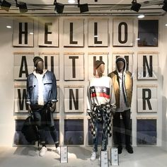 "PULL&BEAR, Corso Vittorio Emanuele II, Milan, Italy, ""Hello Autumn/Fall/Winter"", photo by Visual Merchandising. HU, pinned by Ton van der Veer"