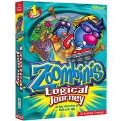 Zoombinis Logical Journey, (kids educational, zombinis logic math, software, learning company pc games, mathematics, games, logic, video games, kids, zoombinis)