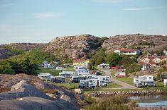 Solvik Camping in Kungshamn, Västra Götalands, Bohuslän, Schweden