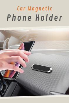 🏎️ A powerful magnetic phone holder for your car dashboard! Magnetic Phone Holder, Unique Gadgets, Car Accessories, Magnets, Auto Accessories