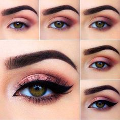 to do eye makeup eye makeup looks best on me makeup tutorial for. - to do eye makeup eye makeup looks best on me makeup tutorial for green eyes e - Eye Makeup Remover, Skin Makeup, Eyeshadow Makeup, Nyx Lipstick, Contour Makeup, Eyeshadow Palette, Purple Smokey Eye, Purple Eye Makeup, Smoky Eye