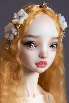 Doll Art...Enchanted Dolls by Marina Bychkova.
