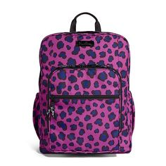 Lighten Up Large Backpack in Leopard Spots