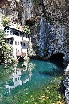 Blagaj, Bosnia and Herzegovina (by David THIBAULT)