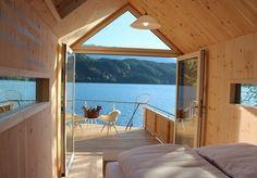 Slaap in een huisje onder de sterren direct aan het Oostenrijkse Millstätter meer, incl. ontbijt, fles sekt