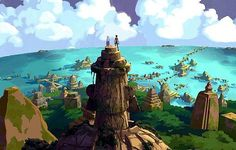 Atlantic from Atlantis: The Lost Empire. | 10 Real Life Locations That Inspired Disney Films