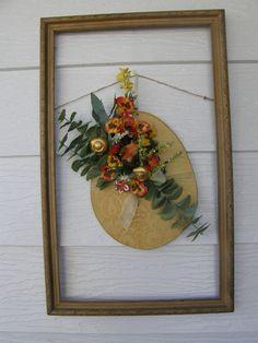 old frame porch decor
