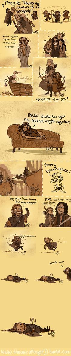 by knightJJ on deviantart -- the Boromir one gets me