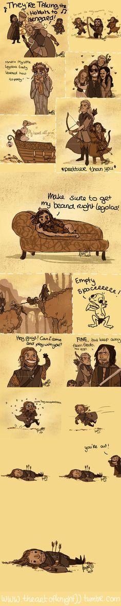 by knightJJ on deviantart -- the Boromir one gets me