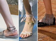 Spring/ Summer 2017 Jewelry Trends: Anklets
