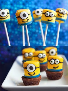 Marshmallow minions... Need we say more?