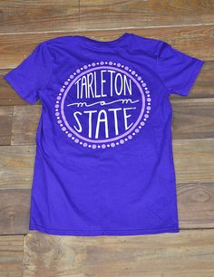 Hey TSU Mom! Show your love and support for your Texan in this new Tarleton State Mom t-shirt! Bleed Purple!