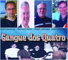 GoF Gangue of Four Gangue dos Quatro Design Patterns