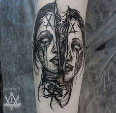 Scary Tattoos, Dope Tattoos, Black Tattoos, Tatoos, Forearm Tattoo Design, Forearm Tattoos, Tattoo Sketches, Tattoo Drawings, Fate Tattoo