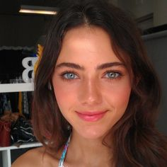 I didn't know there was a bit of brown in her left eye - Amelia Zadro