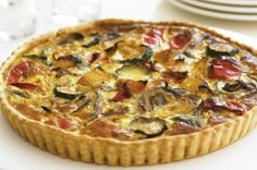 Linda Barker's butternut squash quiche This butternut squash quiche is a really versatile dish, a firm favourite in TV presenter Linda Barker's house. Use ready-made pastry if you're short on time.