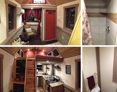 The Elk–Log Cabin Style Tiny Home