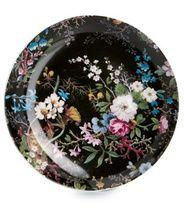 Maxwell & Williams Midnight Blossom -lautanen, ø 20 cm