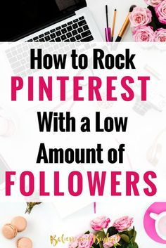 Each month over 90% of my blog traffic comes directly from Pinterest. Last month I had over 200,000 page views from Pinterest. I don't pay for promoted pins either and have a really small following - under 3,000 followers. Learn these 3 ways I drive traffic to my blog each month from Pinterest!