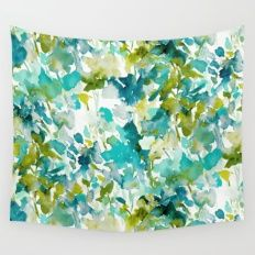 Local Color (Teal) Wall Tapestry