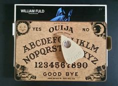 William Fuld Talking Ouija Board Parker Brothers Mystifying Oracle No 600  #ParkerBrothers