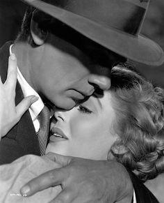 """Joseph Cotten and Loretta Young in """"The Farmer's Daughter"""", 1947."""