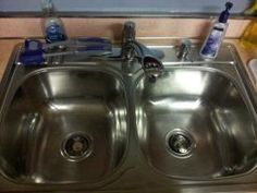 Blessing yourself and your family starts with a shiny sink. The FlyLady will help you get organized in your home.