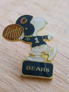 Snoopy NFL Chicago Bears