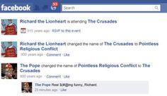 10 Hilarious Historical Facebook Updates (hilarious facebook, hilarious updates) - ODDEE