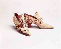 [French] Silk Pumps (1914–1919)