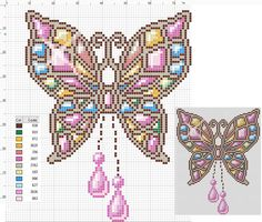 163 Free cross stitch designs butterfly's stitchingcharts borduren gratis borduurpatronen vlinders kruissteekpatronen Tiny Cross Stitch, Butterfly Cross Stitch, Cross Stitch Cards, Cross Stitch Designs, Cross Stitching, Cross Stitch Patterns, Blackwork Embroidery, Hand Embroidery Patterns, Cross Stitch Embroidery