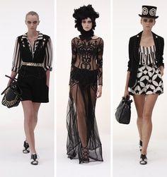 Circus runway fashion