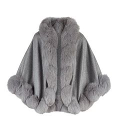 Principles grey-mix faux fur scarf//collar//tippet new