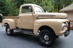 1951 Ford Marmon Harrington Pick Up Vintage Pickup Trucks, Classic Pickup Trucks, Antique Trucks, Farm Trucks, Ford 4x4, Ford Pickup Trucks, Lifted Ford, Ford Lincoln Mercury, Hot Rod Trucks