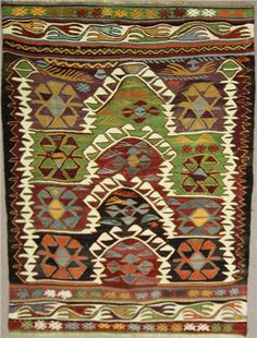 Vintage Turkish Konya Kilim Rugs, View one of the most comprehensive collections of Antique Turkish Kilim Rugs, handmade traditional Turkish Kilim rugs, Kilim cushions and Kilim Furniture, with worldwide delivery. Rug Store based in London UK (Prd code - Diy Carpet, Rugs On Carpet, Carpet Ideas, Carpets, Silver Carpet, Cheap Rugs, Prayer Rug, Turkish Kilim Rugs, Persian Rug