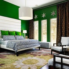 Green Bedroom Design Blue Green Bedrooms, Green Bedroom Walls, Green Walls, Green  Bedroom